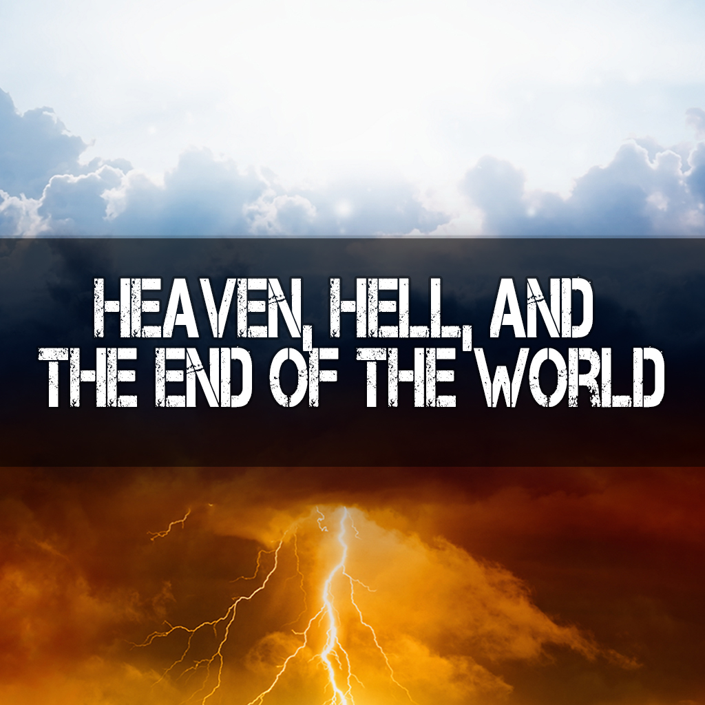 Religious background - heaven and hell, good and evil, light and darkness