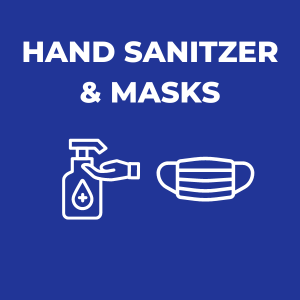 Hand Sanitizer & Masks