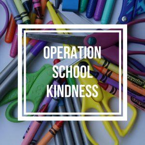 Operation School Kindness
