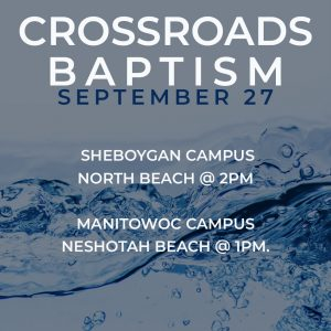 Fall 2020 Baptism Services